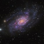 NGC 2403 em Camelopardalissob a lente de Martin Pugh