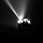 Rosetta captura explosão no cometa 67P/Churyumov-Gerasimenko antes do periélio