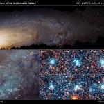 Astrônomos usando o Hubble desvendam pistas sobre o nascimento estelar na galáxia de Andrômeda com ajuda dos cidadãos cientistas