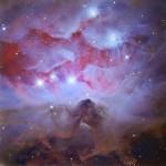 As 1970s: três nebulosas de reflexão em Órion por Adam Block