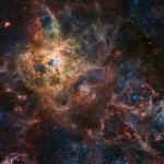A nebulosa da Tarântula processada por Robert Gendler e Roberto Colombari