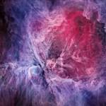 M42: a Grande Nebulosa de Órion no visível por Oliver Czernetz e no infravermelho pelo Spitzer