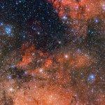 ESO: Um laboratório estelar em Sagitário