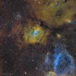 NGC 7635: uma bolha em um oceano cósmico por Sébastien Gozé
