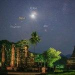 NOVA Sagittarius 2016 capturada nos céus da Tailândia por Jeff Dai (TWAN)