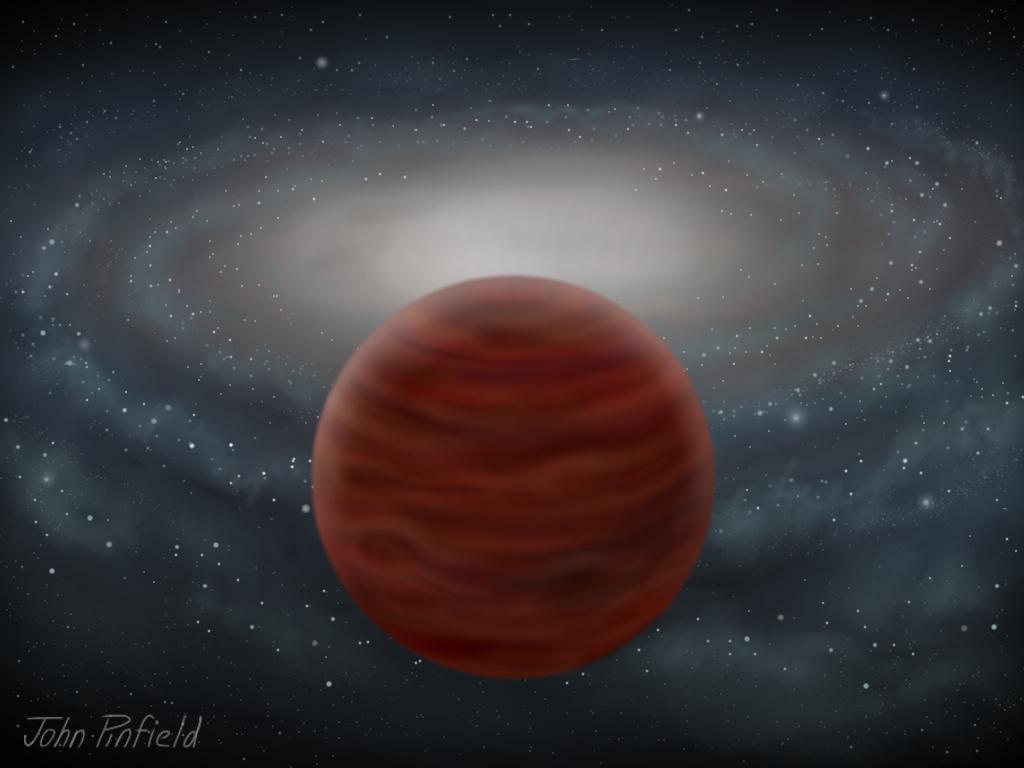 SDSS J0104+1535: astrônomos descobrem a anã marrom (anã castanha) mais pura e mais massiva até a data