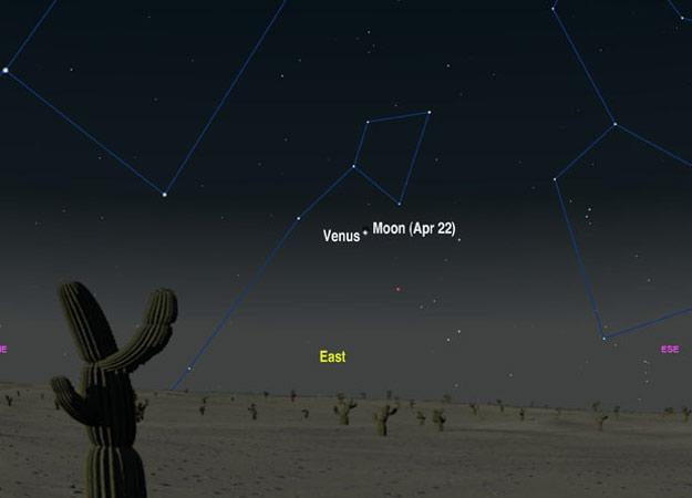Ocultação de Vênus pela Lua