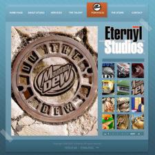 Eternyl Studios Original Flash Site