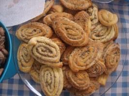 Bolachas de amendoim (peanut cookies)