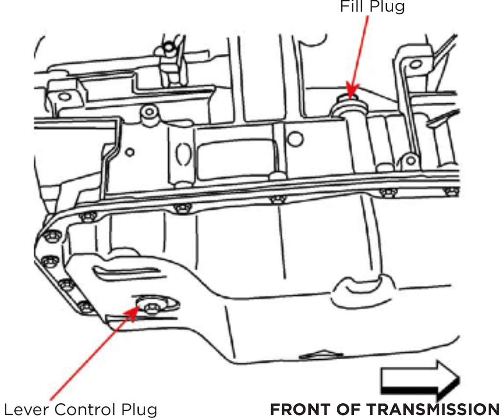 Gm Trans Fluid Diagram
