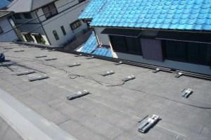 京セラ太陽光 施工事例 城陽市 架台