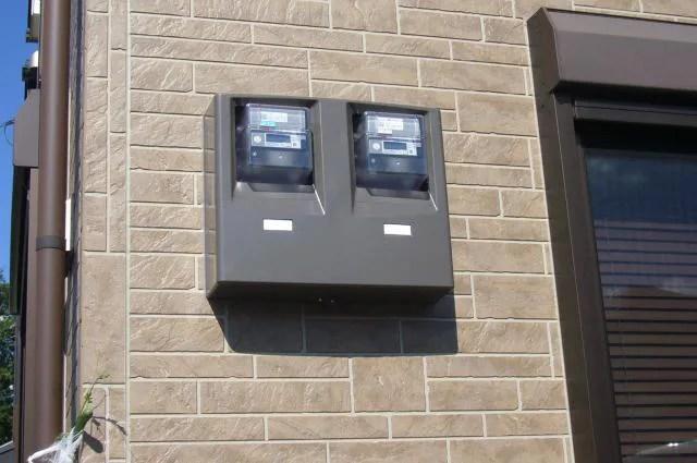 太陽光用2連メーターボックス
