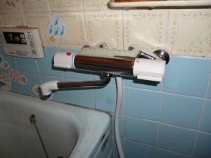 城陽市 水漏れ修理 浴室カラン