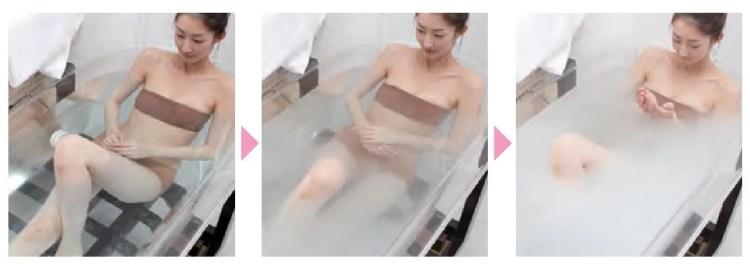 マイクロバブル入浴イメージ