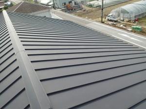 太陽光設置前 金属屋根
