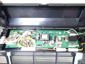 エアコンクリーニング CS-X252C-W 分解