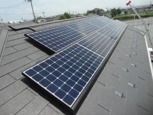 太陽光発電 東芝 スレート