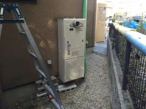 エコキュート ガス給湯器