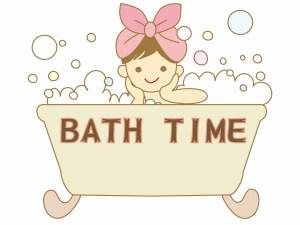 お風呂でリラックス