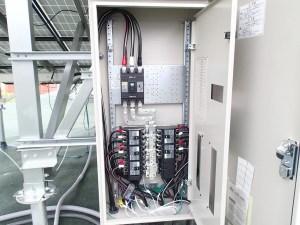 産業用太陽光 集電箱
