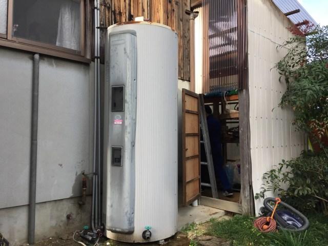丸形電気温水器