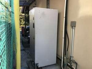 ナショナル 電気温水器 取替工事