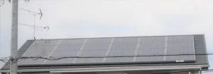 シャープ太陽光発電3.9KW