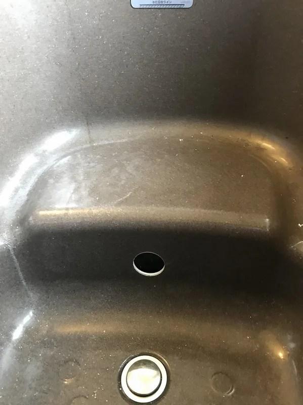 浴槽穴あけ施工後