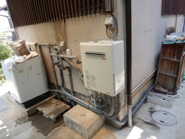 ガス給湯器工事