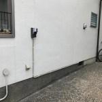 EVコンセントの配線工事