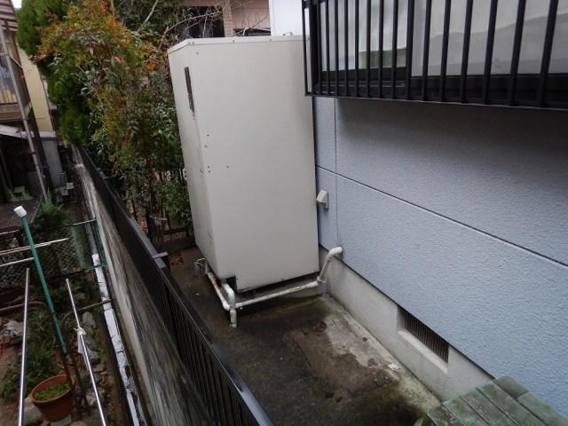 故障寸前の電気温水器