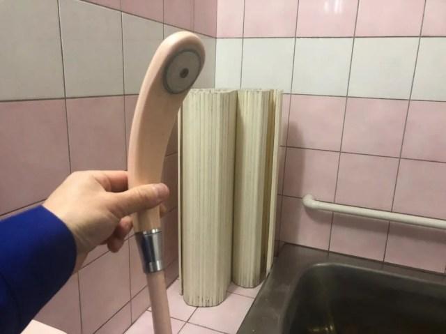 ミラブル シャワーヘッド交換前