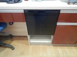 食器洗い乾燥機の取替え後