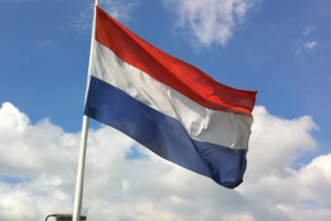 Netherlands Flag Dutch General Election