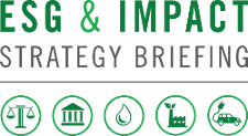 ESG & Impact Strategy Briefing