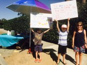 lemonade stand for ethan and choco book club, aug2015