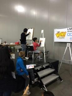 Copic Live Art Stage