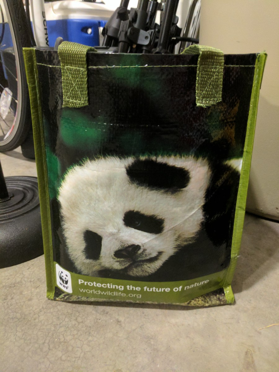 Panda Bag: Virginia Tech Graduate Student Band