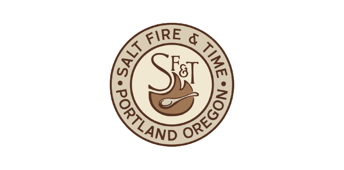 Salt Fire & Time Logo