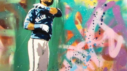 bat flip colourful