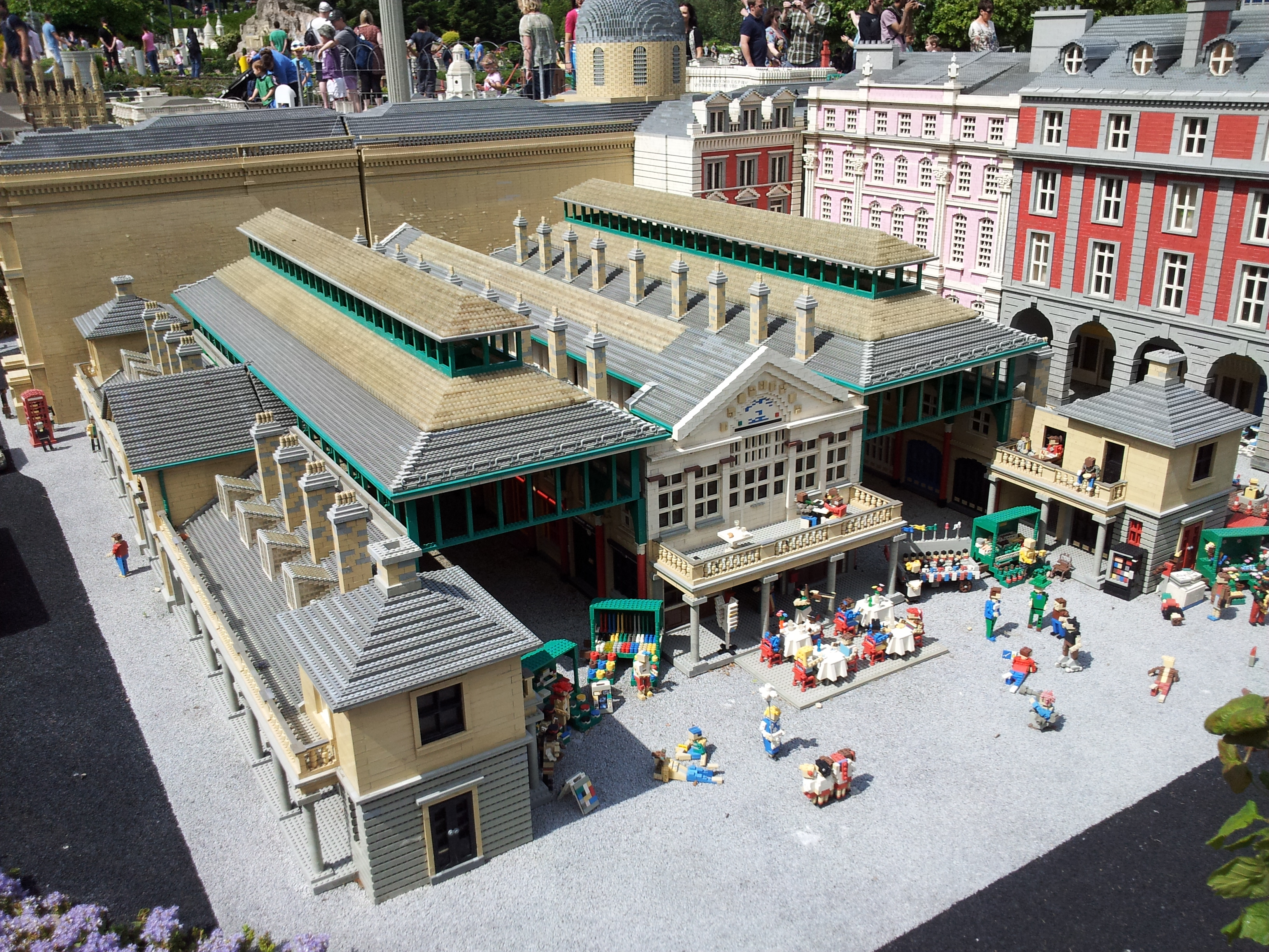Miniland at Legoland Windsor   Ethendras's Blog