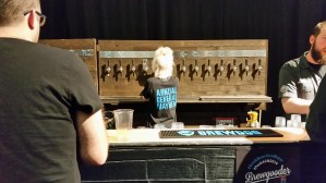 The Boyd Ohr room bar staff at Brewdog Punk AGM 2016