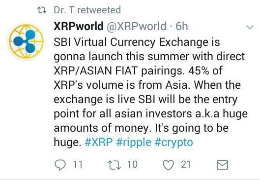 Pending SBI Holdings Crypto Exchange To Spearhead Moon Landing For Ripple (XRP) 1