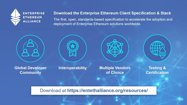 Enterprise Blockchains Can Now Communicate Thanks to Ethereum (ETH) 1