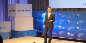 Jihan Wu at the DC Blockchain Summit. Credit: Coindesk