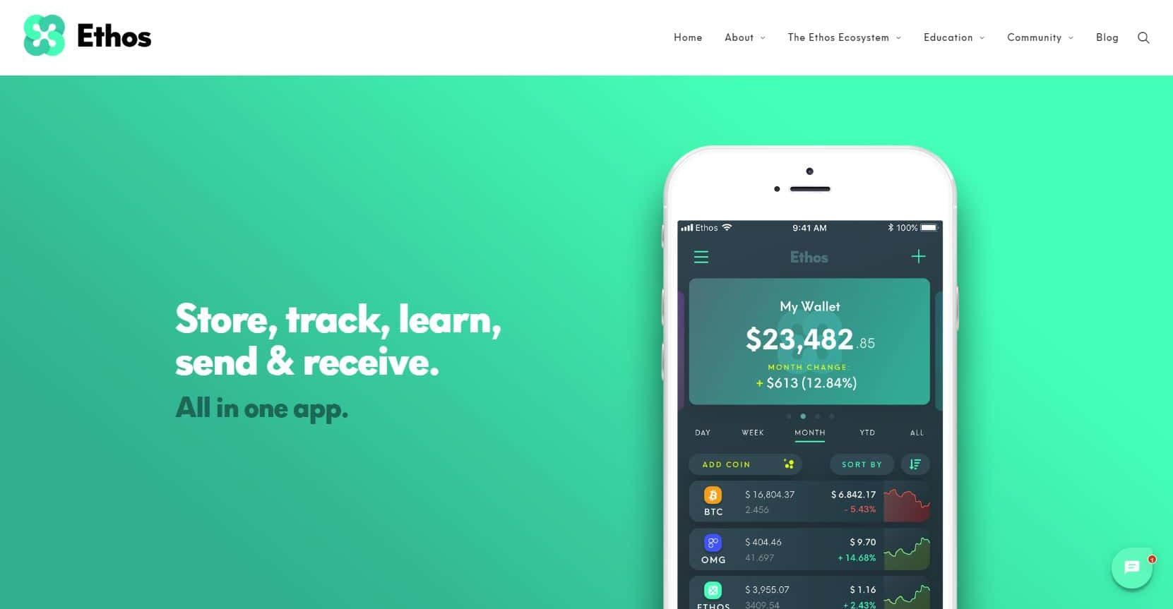 Ethos Jumps Up 50% After U.S. Release of The 'Universal Wallet' 1
