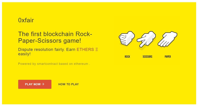 Can Rock, Paper, Scissors Save The Ethereum (ETH) DApp Landscape? 2