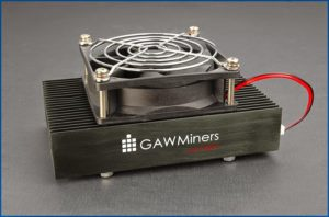 One of the mining equipments offered by GAW Miners LLC
