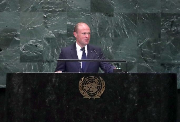 Malta's President Speaking about Cryptocurrencies on the UN General Assembly