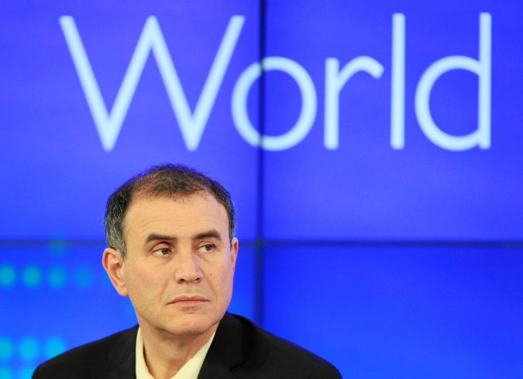 Nouriel Roubini disagrees with Cameron Winklevoss. He believes Crypto is a bubble
